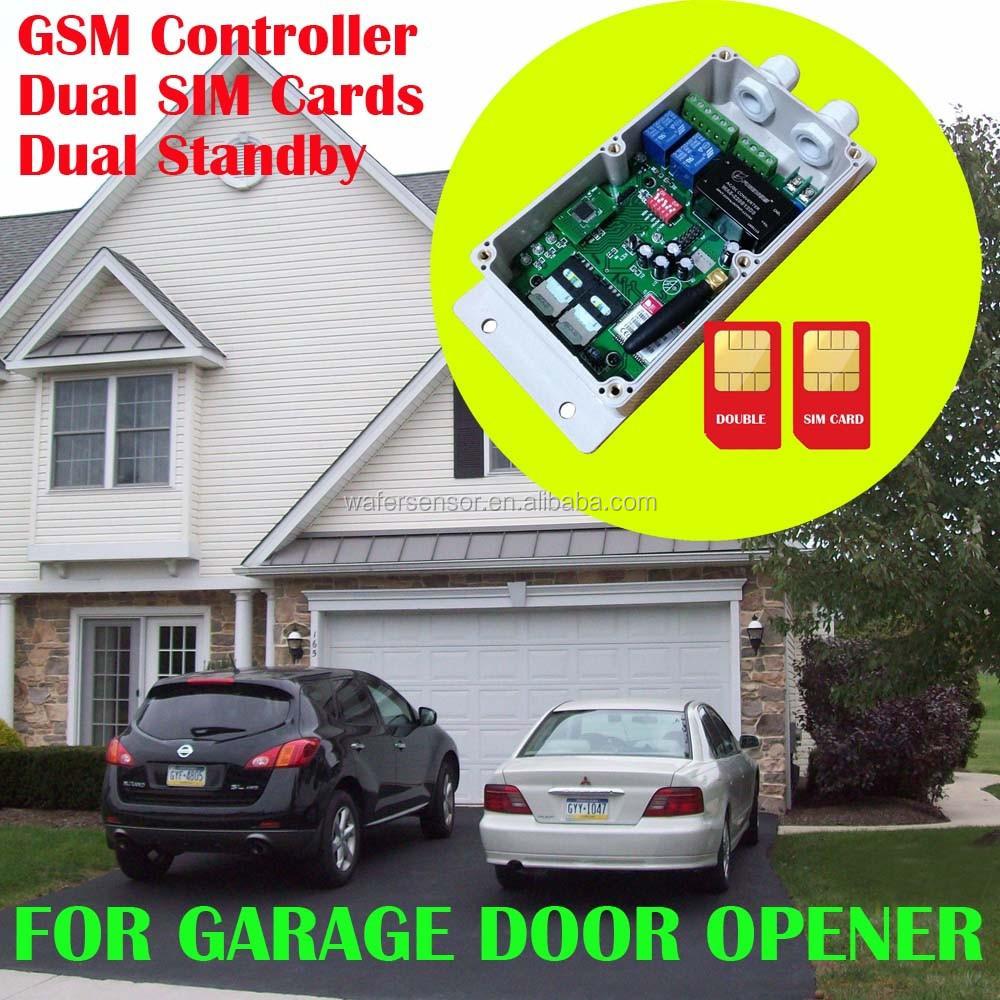 Automatique porte de garage gsm op rateur de porte de for Telecommande ouvre porte de garage
