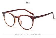 2018, винтажные прозрачные круглые очки, женские очки, очки для близорукости, мужские очки, оправа, ботан, оптическая, леопардовая оправа, проз...(Китай)