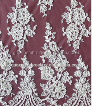 Fashion Colorfull Embroidery & Corded Tulle Lace on sale!