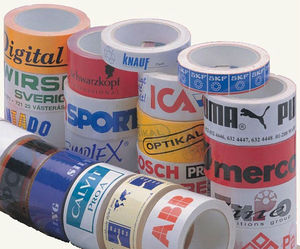 Tape with logo / print - Logotape - Packaging tape - Denmark (EU)