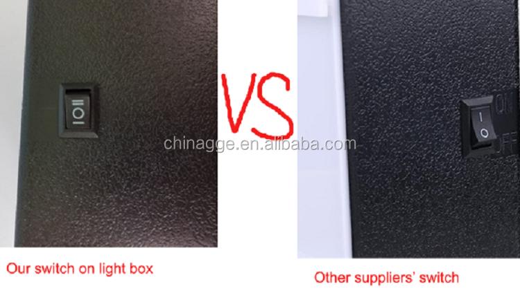 Usb 5 v led lightbox mini light box lettera cinematografica cinema