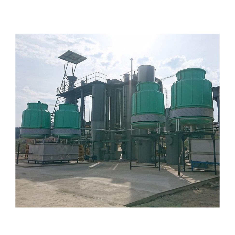 6 MW biomass pellet gasification electricity generation
