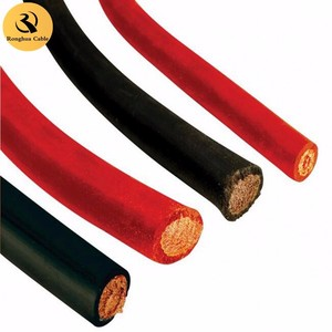 VDE Standard Leading wire PVC/Rubber insulation and sheath 95mm2 copper/aluminium conductor electric welding machine cable
