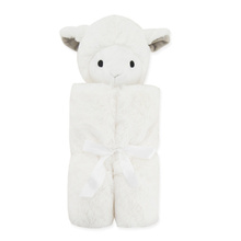 Best Sell Baby Product Soft Coral Fleece Push Sheep Toy Thick Baby Heated Blanket
