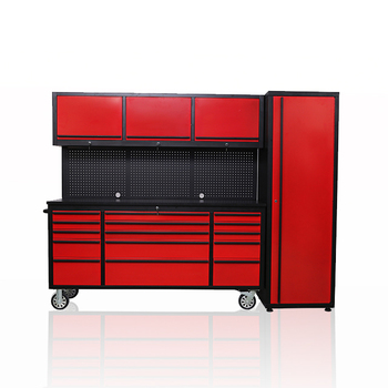 tool + cabinet garage custom sheet metal tool box