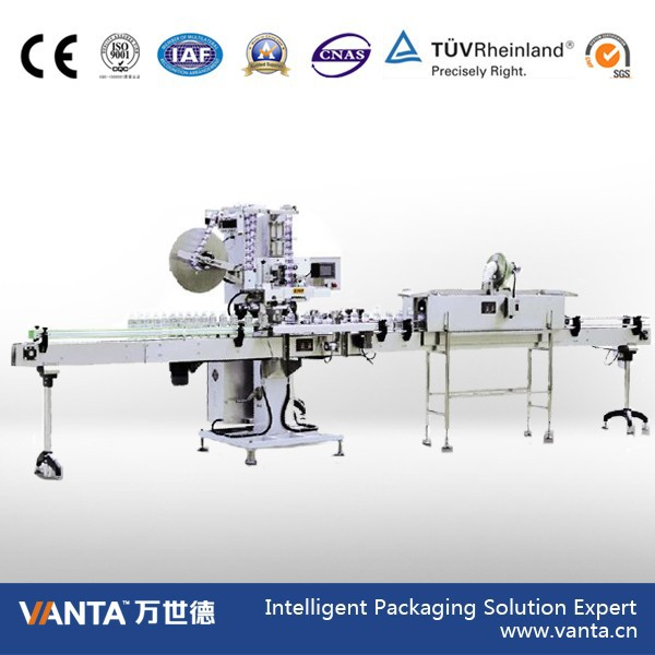 Filling Capping and Labeling Machine Shrink Sleeve Labeling Machine SLM150 (180 Bottles/Min.)
