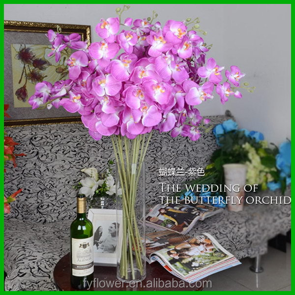 Bottom price Cheapest wall hanging artificial flowers orchids
