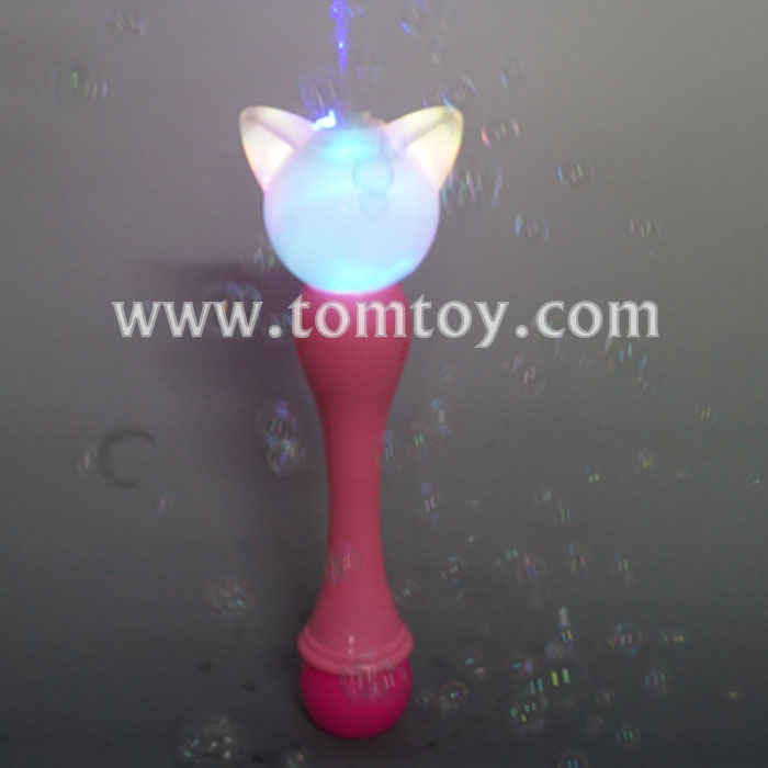 Tomtoy hot LED light up Unicorn Bubble Wand