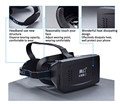 RITECH II VR Glasses for Google Cardboard Virtual Reality Movies Games Polarized Google 3D Glasses for