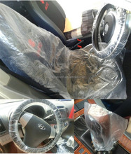 PE gear knob cover set /seat cover/steering wheel covers