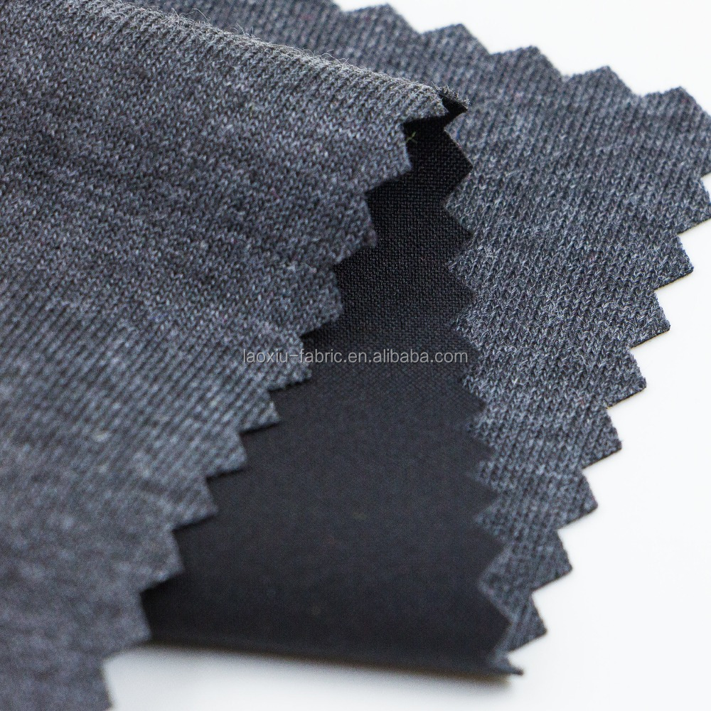 tear resistant PU coated poly taffeta tent fabric TRICOT BRUSH FABRIC