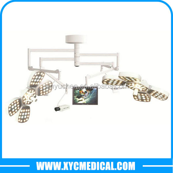 CE&ISO YCLED5+5 Ceiling Mounted LED Surgical Lighting\Operating Light\OT Light with Video Camera System