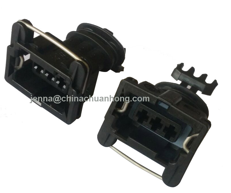 GM Multi Port Fuel Injector TE CONNECTIVITY 282191-1 Connector Housing, 3 Ways, 5 mm, Junior Power Timer socket contacts