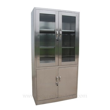 Used Stainless Steel Medical Cabinets