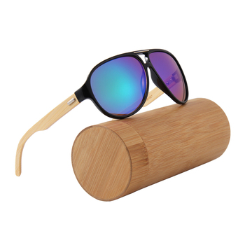 Custom shaped colored plastic men bicycle oversize rose gold mirror sunglasses bamboo 2017