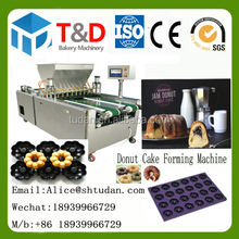 Bakery equipment china fctory supplier Hot Sale Economic donut cake depositor brownie muffin madeleine cup cake forming machine