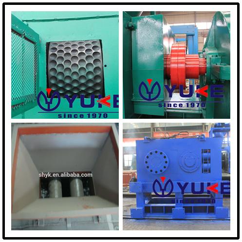 High density charcoal/coke powder briquette press machine