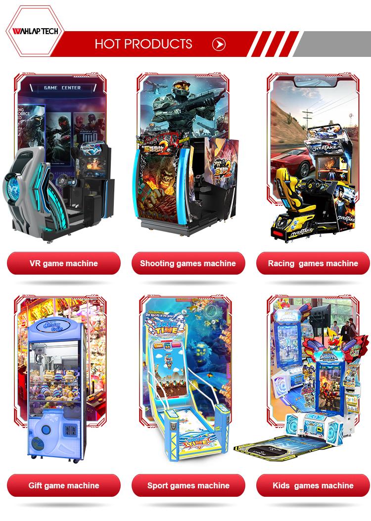 वीडियो आर्केड उपकरण लॉटरी टिकट पुरस्कार खेल सिक्का संचालित मोचन खेल मशीन
