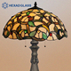 Handcrafts of Stained Table Lamp for Gifts and Crafts