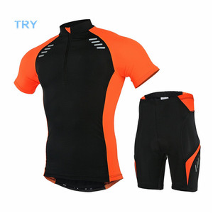 Summer short sleeve cycling set bicycle clothing