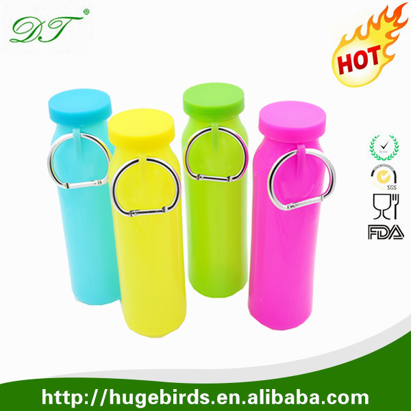 Folding Eco-friendly Outdoor Water Bottle BPA Free Go Camping Collapsible Sport Silicone Foldable Travel