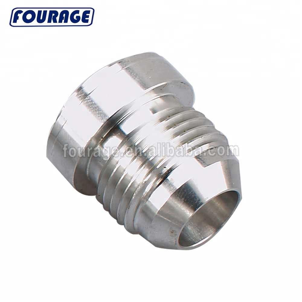 Marine Hardware Aluminum 10an An-10 An10 Male Mild Steel Weld On Fitting Bung Fast Color