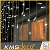 warm white led twinkle light string curtain wedding hall decoration lights