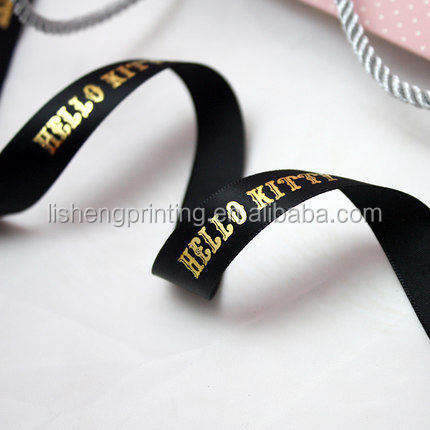 China fashion customized printed stain ribbon