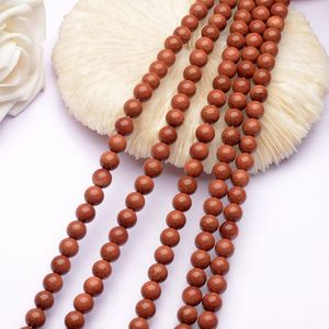 Wholesale Glidstone Round Bead Brown Jewelry Making Beads