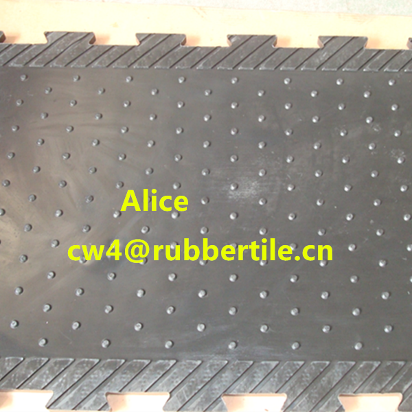 Rubber stable mat/horse equipment/Cow horse matting