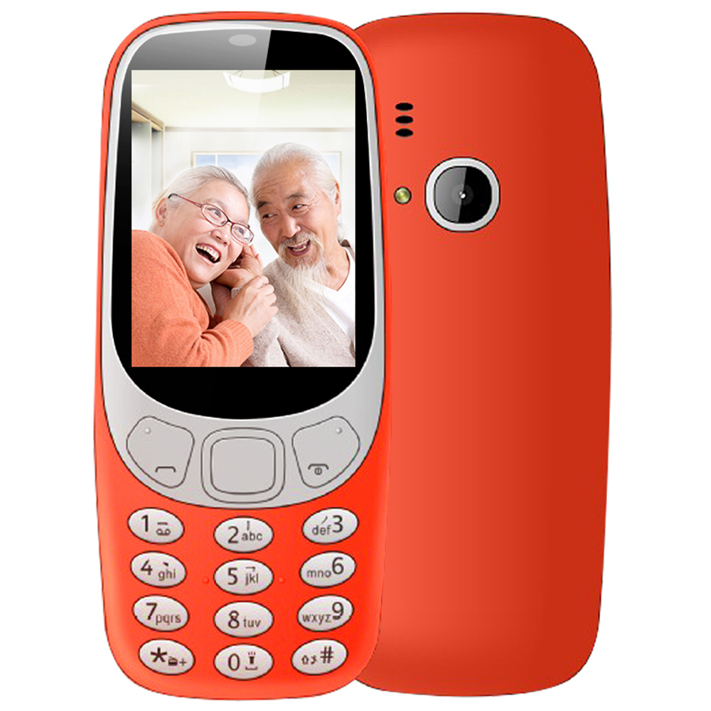 Dual SIM 2G 2.4inch size cell phonemobile phone for the elderly,student cell phone for G7