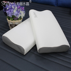 Skylee high elastic washable 3d mesh waves pillow