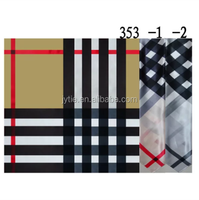 Brown Check Design 100%Silk Scarf