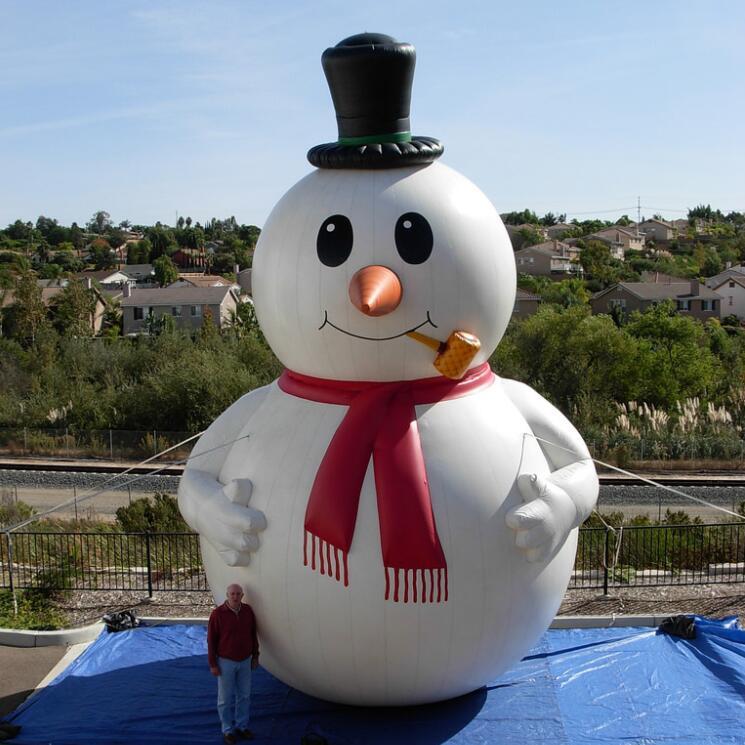 Танцующий снеговик фото