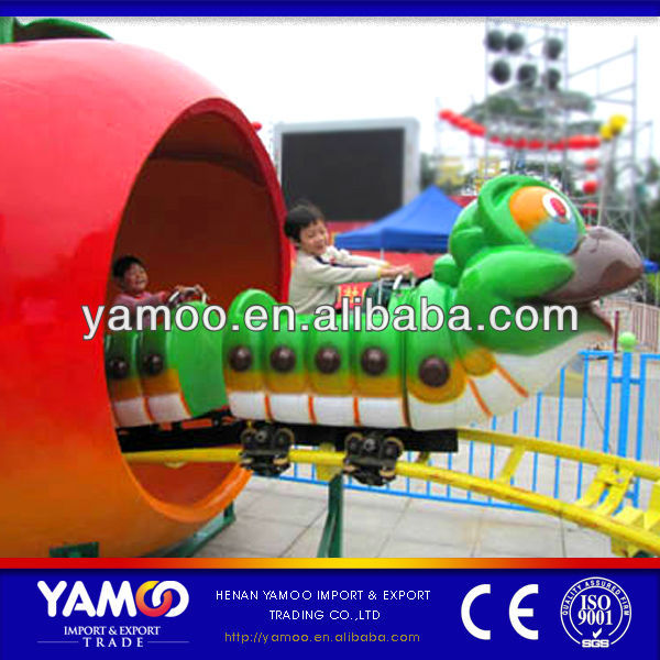 amusement ride animal car mini roller coaster kids rides for sale
