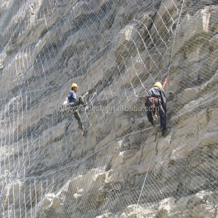 SNS Active Slope Protection And Safety Netting System For Rock Fence Barriers
