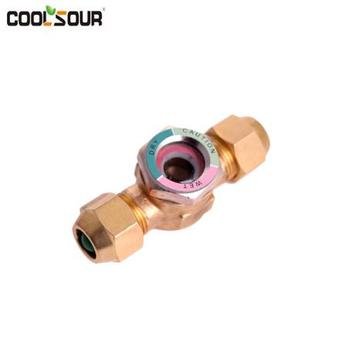 Coolsour Moisture Flow Indicator Sight glass , Refrigeration fittings