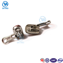 DAWEI brand Hot selling hoge kwaliteit yiwu fabriek lineaire omkeerbare 5 dubbele pull metalen <span class=keywords><strong>rits</strong></span> <span class=keywords><strong>slider</strong></span>