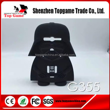 Darth Vader 3d Silicone phone case manufacturing for Samsung galaxy core 2 duos g355h