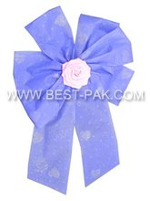 decorative printable polyester ribbon rosette