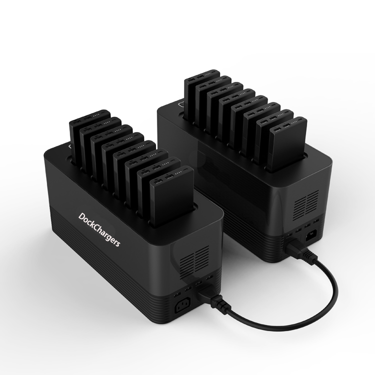 Dock Chargers New arrived power station with 8pcs power bank 10000mah, sharing power bank station