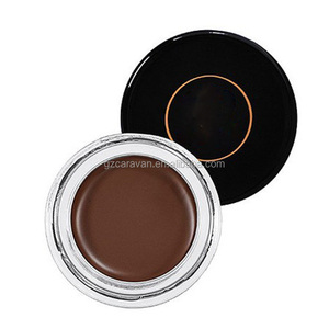 High-pigment formula glides on easily and dries fast eyebrow cream