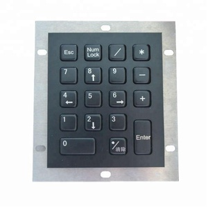 18 Keys Rugged usb Numeric Metal Keypad