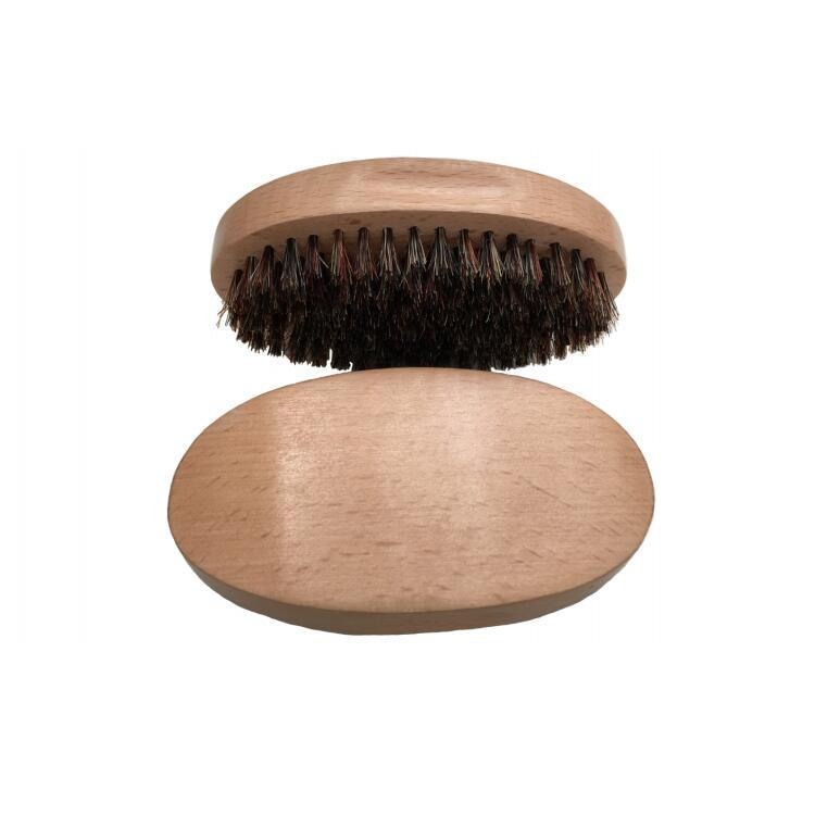 wooden handle wholesale boar bristle beard brush for men