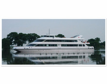 250seats Steel Passenger Ferry Ship with luxury decoration