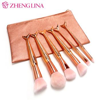 custom best selling beautiful rose gold mermaid makeup
