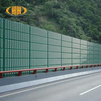 2017 New Design Vietnam Market Aluminum Highway Noise Barrier Wall,Railway  Noise Barrier Wall - Buy Noise Reduction Wall Panel,Acoustic Barrier