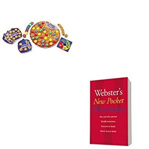 KITHOU1019934LRNLER7410 - Value Kit - Learning Resources Smart Snacks Counting Cookies Game (LRNLER7410) and HOUGHTON MIFFLIN COMPANY Webster's New Pocket Dictionary (HOU1019934)