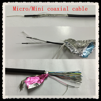 FEP insulation smaller signal loss micro coaxial cable
