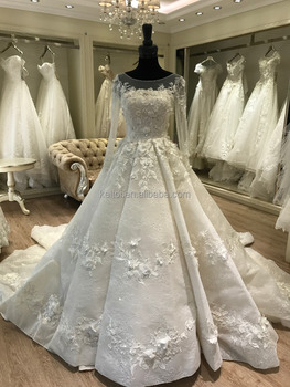 2017 Hot Sale Muslim Luxury Wedding Dress Online Shop Buy Muslim
